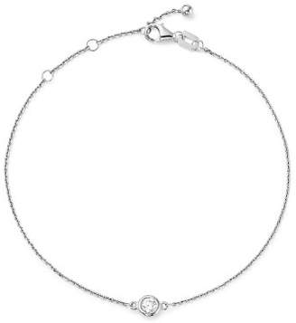 Bloomingdale's Diamond Bezel Set Bracelet in 14K White Gold, .15 ct. t.w. - 100% Exclusive