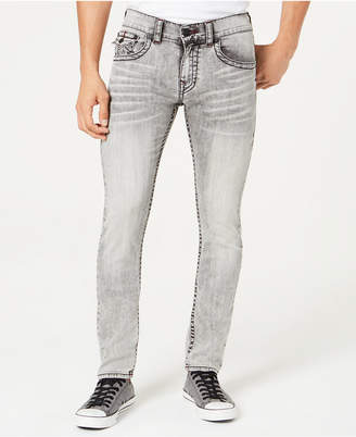 True Religion Men's Skinny-Fit Flap Back Jeans