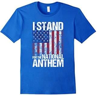Stand Flag Football Political American Flag T-Shirt
