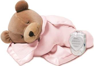 Prince Lionheart 0015B Tummy Sleep Original Bear With Silkie, Pink