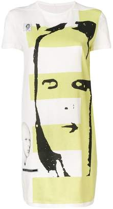 Rick Owens graphic print tunic