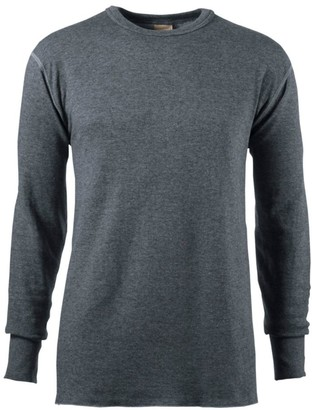 L.L. Bean L.L.Bean Men's Double-Layer Underwear, Crewneck