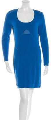 Yigal Azrouel Cut25 by Paneled Knit Dress