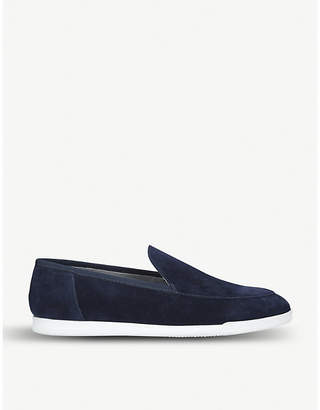 9c050b26820 Navy Leather Loafers Women - ShopStyle UK