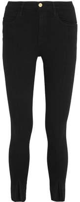 Frame Le High Skinny Jeans - Black