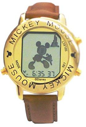 Disney (ディズニー) - ディズニーミッキーマウスデジタルWatch withレザーバンド