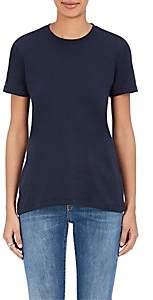 Barneys New York Women's Pima Cotton Crewneck T-Shirt - Navy