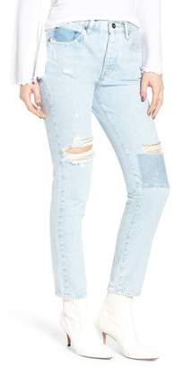 Levi's LEVIS MADE AND CRAFTED Made & CraftedTM Twig II High Waist Ankle Slim Jeans (Pipeline Blue)