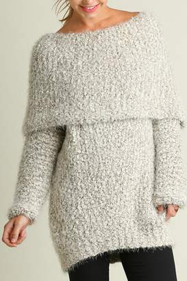 Umgee USA Chunky Sweater Dress