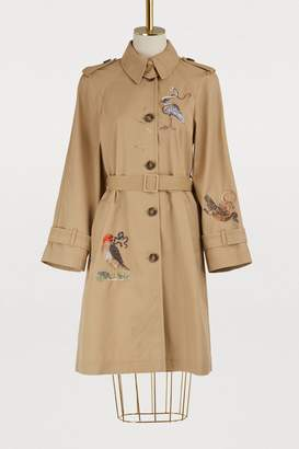 RED Valentino Embroidered trench-coat