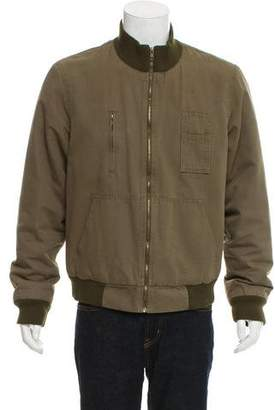 Marc by Marc Jacobs Canvas Quilted Bomber Jacket