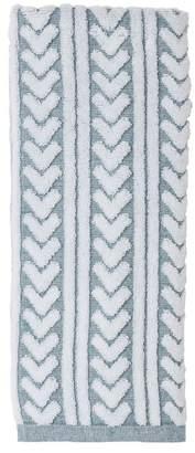 "Nordstrom Rack Chevron Stripe Hand Towel - 30\"" x 16\"""