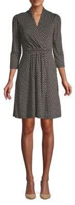 French Connection Caressa Meadow Jersey A-Line Dress