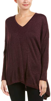 NYDJ Shimmer Asymmetric Sweater