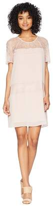BCBGeneration Raglan Sleeve Tiered Dress Women's Dress