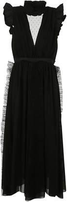 MSGM Ruffle Trim Dress