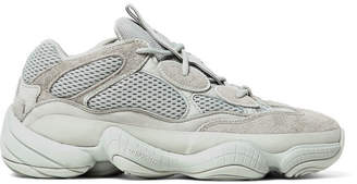 adidas Yeezy 500 Leather, Suede And Mesh Sneakers