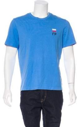 Gosha Rubchinskiy 2016 Small Flag Logo Graphic T-Shirt