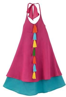 Masala Baby Petal Halter Dress