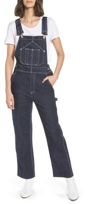 Rag & Bone Patched Dungaree Overalls