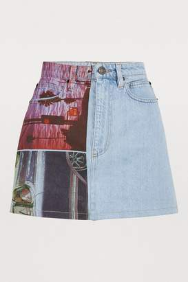 Calvin Klein Est. 1978 Denim skirt