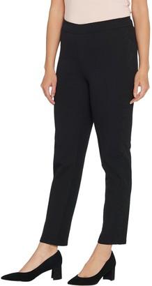 Isaac Mizrahi Live! Tall 24/7 Stretch Lace Trim Pants
