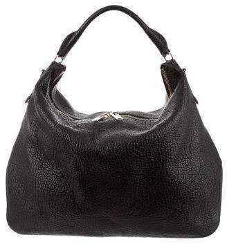 b66ac2dbb948 Burberry Pebbled Leather Hobo