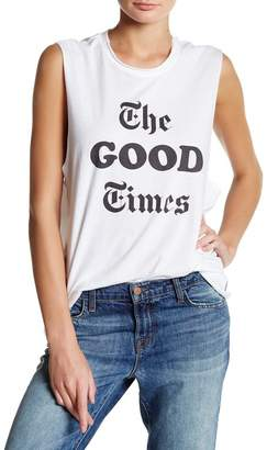 The Laundry Room The Good Times Muscle Tee $54 thestylecure.com