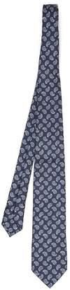 Dunhill Micro Paisley-print silk tie