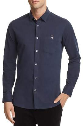 Ted Baker Bloosh Shacket Regular Fit Button-Down Shirt - 100% Exclusive
