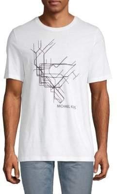 Michael Kors Graphic Logo Tee