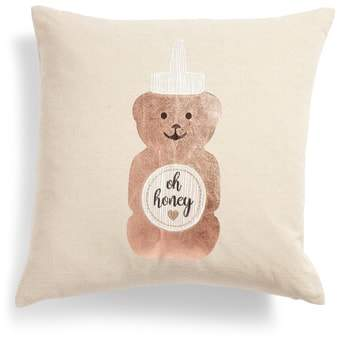 Oh Honey Accent Pillow
