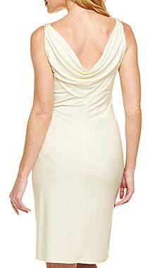 JCPenney American Living Draped V-neck Dress