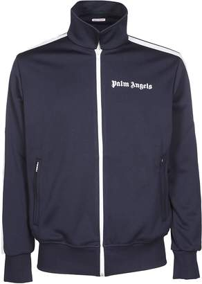 Palm Angels Logo Zipped Bomber