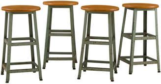 Rejuvenation Set of 4 Tall Classroom Stools