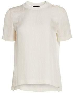 Rag & Bone Women's Aiden Button Tee