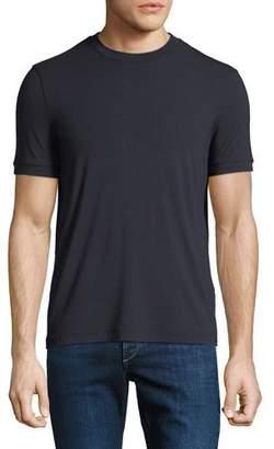 Giorgio Armani Men's Solid Jersey Crewneck T-Shirt