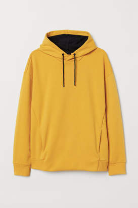 H&M Hooded Sweatshirt - Yellow