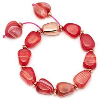 Lola Rose Robin Scarlet Agate Bracelet of Length 20-26cm