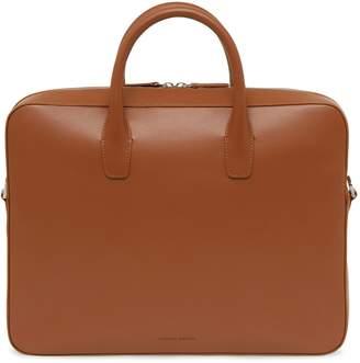 Mansur Gavriel Calf Briefcase - Saddle