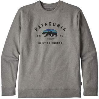 Patagonia Men's Arched Fitz Roy Bear Uprisal Crew Sweatshirt