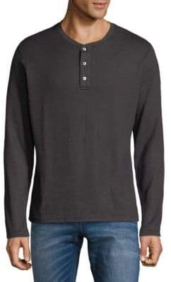 Hyden Yoo Long-Sleeve Henley