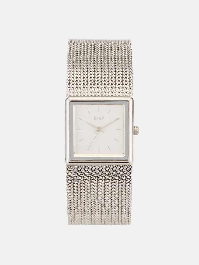DKNY Stonewall Mesh 25mm Stainless Steel Watch