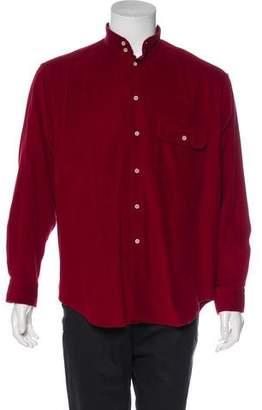 Giorgio Armani Corduroy Woven Shirt