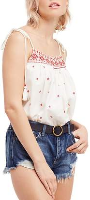 Free People Eternal Love Embroidered Top