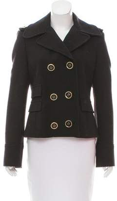 Michael Kors Wool Double-Breasted Jacket