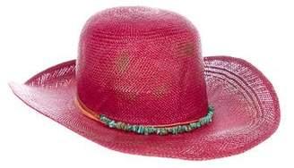 Nick Fouquet Embellished Sun Hat