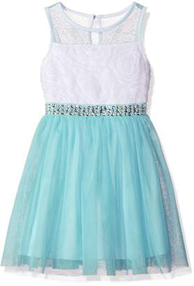 My Michelle Big Girls' Mesh Party Dress