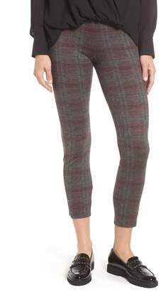 Lysse Lyss? Mini Zip Plaid Crop Leggings