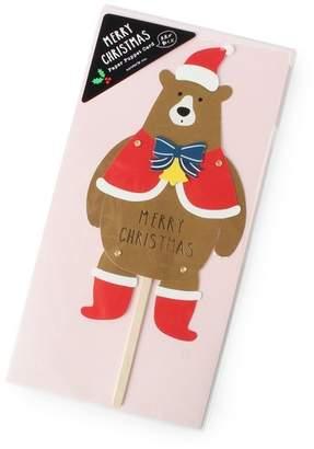 Grove (グローブ) - グローブ クリスマスカード(ペーパーパペット)